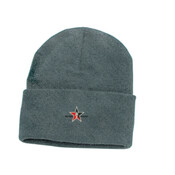 Grey Beanie Day Trading Rock Star Embroidery