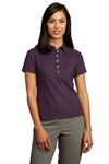 Ladies Honeycomb Performance Pique Polo