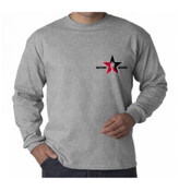 Grey L/S MIC Rock Star