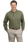 Port Authority® - Long Sleeve Pique Knit Polo. K320