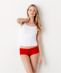 Ladies' Cotton/Spandex Shortie